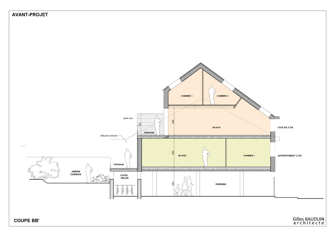Projets d 39 architecture cologique basse nergie maison for Construction de maison de niveau